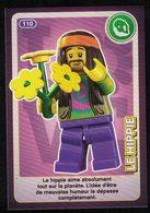 Carte à Collectionner Auchan Lego Crée Ton Monde Le Hippie 110 - Other Collections