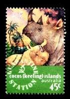 COCOS-ISLANDS 1996 Mi.nr.346 Veterinärdienstes  OBLITÉRÉS / USED / GESTEMPELD - Cocos (Keeling) Islands