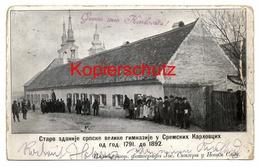 Karlovitz - Sremski Karlovci - Сремски Карловци - Ca. 1900 Nach Wien, Mit Zensur No. 7 - Serbien