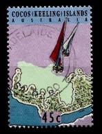 COCOS-ISLANDS 1994 Mi.nr.321 Landkarte Der Kokos-Inseln  OBLITÉRÉS / USED / GESTEMPELD - Cocos (Keeling) Islands