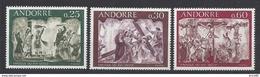 Andorre Français - YT N° 191 à 193 - Neuf Sans Charnière - 1968 - Neufs