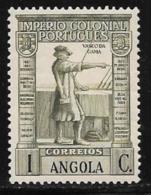 Angola, Scott # 274 MNH Vasco Da Gama, 1938 - Angola