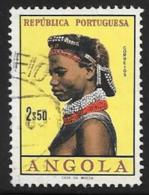Angola, Scott # 426 Used Girl Of Angola, 1961 - Angola
