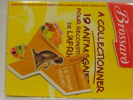 Magnet BROSSARD Afrique Le Singe Vervet - Publicitaires