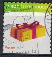 Luxembourg 2008 Oblitéré Série Happy Present Cadeau - Luxembourg
