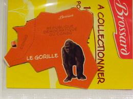 Magnet BROSSARD Afrique Le Gorille - Publicitaires