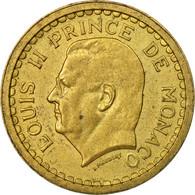 Monnaie, Monaco, Franc, 1943, Poissy, TTB, Cupro-Aluminium, Gadoury:MC 132 - Monaco