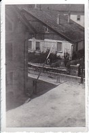 Foto Kaserneneingang Schranken -  2. WK - 8*5,5cm (36765) - War, Military
