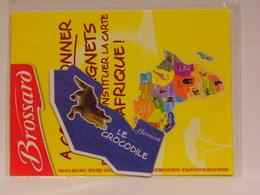 Magnet BROSSARD Afrique Le Crocodile - Publicitaires