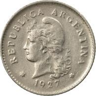 Monnaie, Argentine, 10 Centavos, 1927, TB+, Copper-nickel, KM:35 - Argentina
