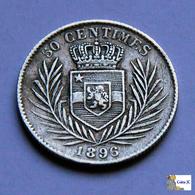 Congo Free State - 50 Centimes - 1896 - Congo (Belgian) & Ruanda-Urundi