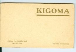 CP Détachables (10) En Carnet Tanzanie Kigoma Editions Jos. Dardenne Série 2 N Luxe Vers 1935 - Tanzanie