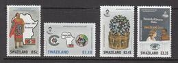 2004 Swaziland Smart Partnership Complete Set Of 4  MNH - Swaziland (1968-...)