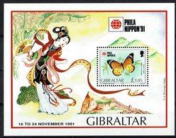 Gibraltar 1991 // Mi. 632 ** Block 16 (028..837) - Gibilterra