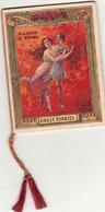 """Calendarietto Pubblicitario Da Barbiere. Colli Fioriti Fabbrica Sapone E Profumeria """"Danze E Fiori"""" 1930 - Calendari"""
