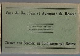 M31DEURNE   BERCHEM   ZICHTEN VAN DE LUCHTHAVEN      12 PRENTKAARTEN - Places