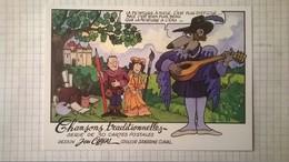 Lot De 30 Cartes Postales Jean CLAVAL / Chansons Traditionnelles - Illustrateurs & Photographes