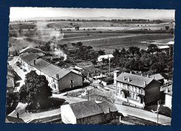 54. Thézey -Saint-Martin. En Avion Au Dessus De Thézey- St. Martin. L'école. 1985 - Autres Communes