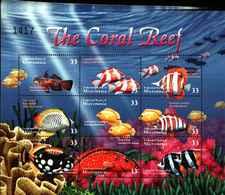 72400) 2000 Micronesia-SG 1051/1059 SHEETLET-barriera Corallina--MNH**-BF. - Micronesia