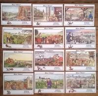 Lot De 12 Cartes Postales Illustrateur Jean CLAVAL / Horoscope Oenologique - Illustrateurs & Photographes