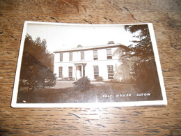 Carte Postale Ancienne Photo Du Golf House Olton, Daté 1913 - Angleterre