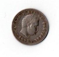 L-218  PORTUGAL=1893   SILVER     100  REIS     V FINE - Portugal