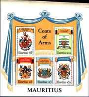 72403) Maurizio: City Coats Of Arms (stemma) 10.04.1981  -MNH**-BF.13 - Mauritius (1968-...)