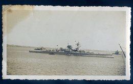 Photographie Originale Navire De Guerre   SEPT18-20 - Bateaux