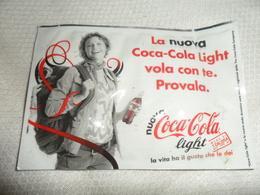 ANCIENNE SERV. RAFRAICH.  ALITALIA  ET PUB    COCA COLA - Coca-Cola