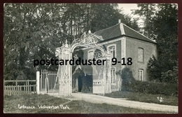 1706 - ENGLAND Wolverton 1910s Park Entrance. Real Photo Postcard - Buckinghamshire
