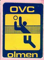 Sticker - OVC - OLMEN - Volleybal - Autocollants