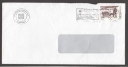 2001  Lettre Locale  Le Ramassage Du Bois, Traineau à Chien  Yv 711 - St.Pierre & Miquelon