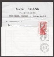 1989 Facture Locale A Découvert  Morue 1,30f.  Yv 490 - Lettres & Documents