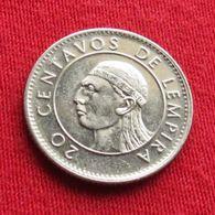 Honduras 20 Centavos 1991 KM# 83.1a - Honduras