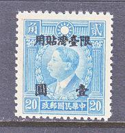 TAIWAN  20   * - 1888 Provincia China