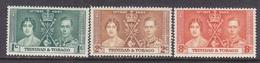 TRINIDAD &  TOBAGO  47-9  **  CORONATION - Trinidad & Tobago (...-1961)