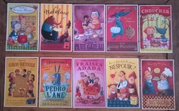 Lot De 11 Cartes Postales Humour Enfants Goûter / Amandine PIU /éditions De Mai - Humour