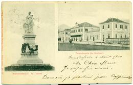 ITALIA Verbano-Cusio-Ossola Domodossola, Monumento A GG Galletti; La Stazione; Italy - Verbania