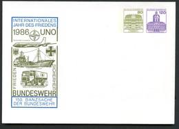 Bund PU242 C1/001 UNO JAHR DES FRIEDENS 1986 Kat.8,00€ - ONU