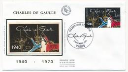 FRANCE - Enveloppe FDC - 1,40 Charles De Gaulle - PARIS - 8.11.1980 - De Gaulle (General)