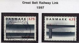 LSJP DENMARK RAIL TRANSPORT TRAIN 1997 - Danemark