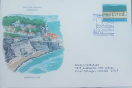 O) 1986 PORTUGAL MADEIRA, FORTS IN FUNCHAL AND MACHICO -SAO LOURENCO-FORTIFIED. FDC XF - Colonies & Territories – Unclassified