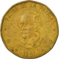 Monnaie, Dominican Republic, Peso, 1991, TB, Laiton, KM:80.1 - Dominicaine