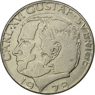 Monnaie, Suède, Carl XVI Gustaf, Krona, 1978, TTB, Copper-Nickel Clad Copper - Suède