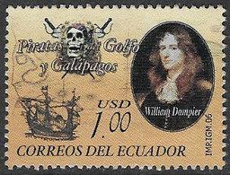 Ecuador SG2989 2006 Pirates Of The Galapagos $1 Good/fine Used [38/31422/4D] - Ecuador