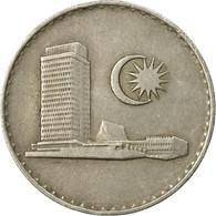 Monnaie, Malaysie, 20 Sen, 1982, Franklin Mint, TTB, Copper-nickel, KM:4 - Malaysie