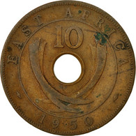 Monnaie, EAST AFRICA, George VI, 10 Cents, 1950, TTB, Bronze, KM:34 - British Colony