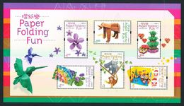 China Hong Kong 2008 Paper Folding Fun MS/Block MNH - 1997-... Chinese Admnistrative Region