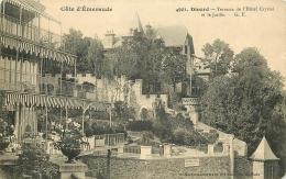35 DINARD. Terrasse De L'Hôtel Crystal Et Jardin - Dinard