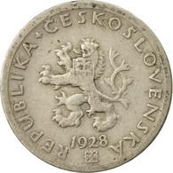 Monnaie, Tchécoslovaquie, 20 Haleru, 1928, TB+, Copper-nickel, KM:1 - Czechoslovakia